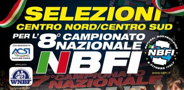 CAMPIONATO NAZIONALE CENTRO-SUD ITALIA NATURAL BODYBUILDING