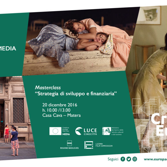 INFODAY Creative Europe MEDIA a Matera