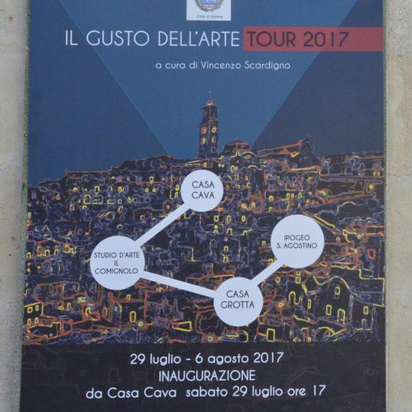 IL GUSTO DELL'ARTE – TOUR 2017