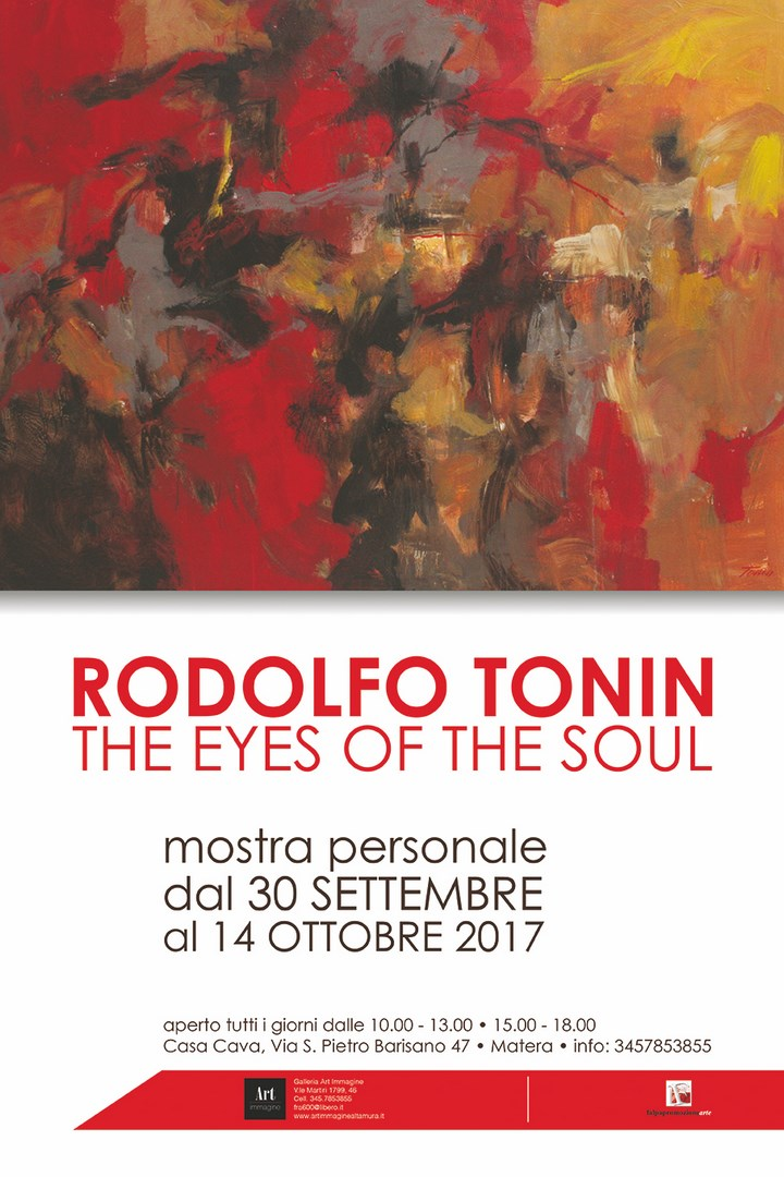 Rodolfo Tonin   The eyes of the soul – mostra personale