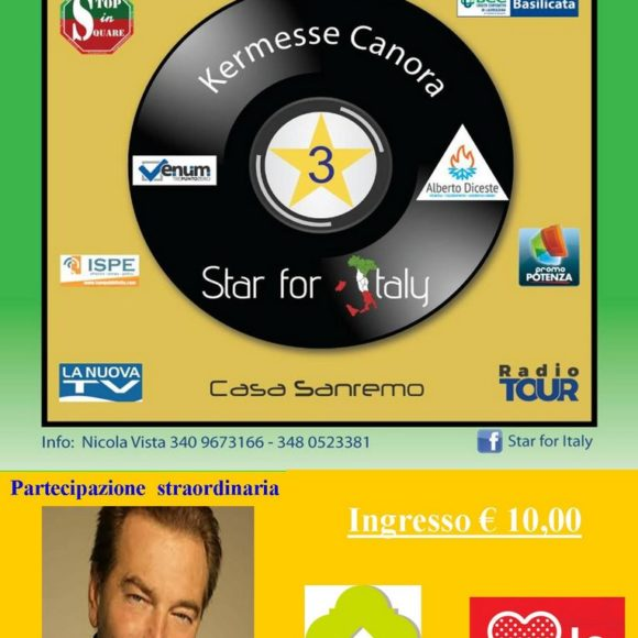 Kermesse Canora – STAR FOR ITALY