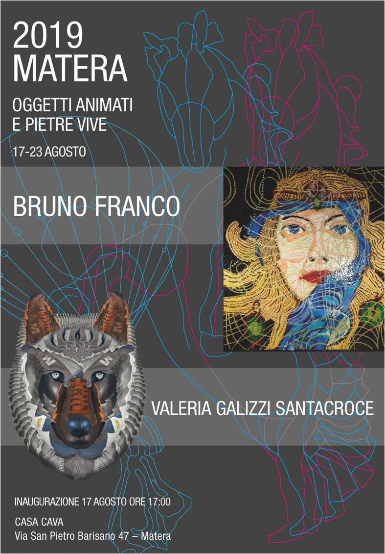 Mostra di Bruno Franco e Valeria Galizzi Santacroce: Oggetti animati e pietre vive