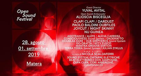 Arriva nei Sassi la prima edizione dell'Open Sound Festival