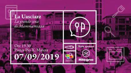 """""""La Uasciazz: la grande cena di Matera 2019"""". Appuntamento il 7 in piazza San Pio X"""