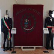 """""""100 anni di storia dell'Aquila della Polizia di Stato"""": divise, armi e decorazioni in mostra a Matera fino al 19 novembre"""