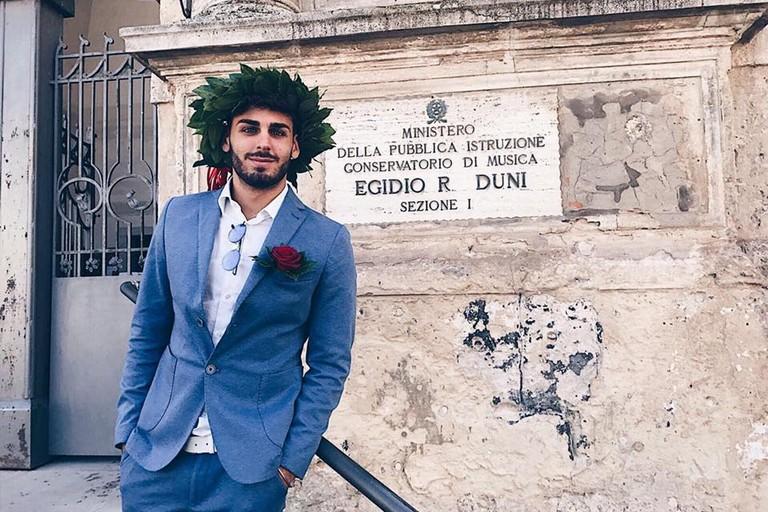 Un materano d'adozione sul palco dell'Ariston: Alberto Urso tra i Big del Festival di Sanremo