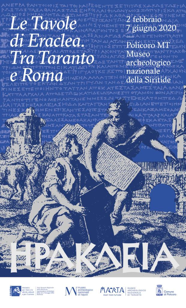 """A Policoro nel Museo Archeologico Nazionale della Siritide la mostra """"Le Tavole di Eraclea. Tra Taranto e Roma"""""""