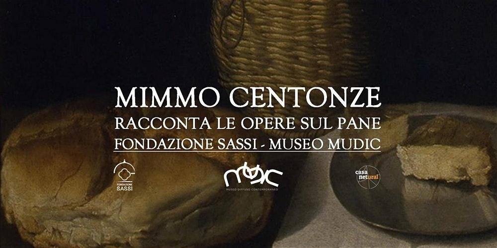 """Matera, """"Mimmo Centonze racconta le opere sul pane"""". Doppio appuntamento alla Fondazione Sassi e al Mudic"""