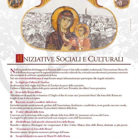 2 luglio 2020, sarà una festa sul filo dei ricordi: ecco le iniziative dell'Associazione Maria Santissima della Bruna