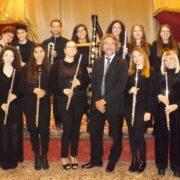 """Matera, il 10 l'orchestra """"Flute in progress"""" chiude il ciclo d'incontri """"… E quindi uscimmo a riveder le stelle"""". Omaggio al Maestro Ennio Morricone"""
