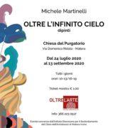 """""""Oltre l'infinito cielo"""", nella Chiesa del Purgatorio di Matera i dipinti di Michele Martinelli"""