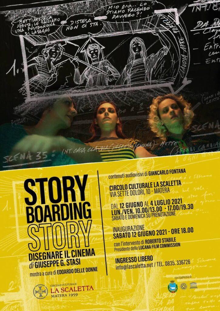 """Matera, domani inaugurazione mostra """"Storyboarding story, disegnare il cinema"""" di Giuseppe G. Stasi"""
