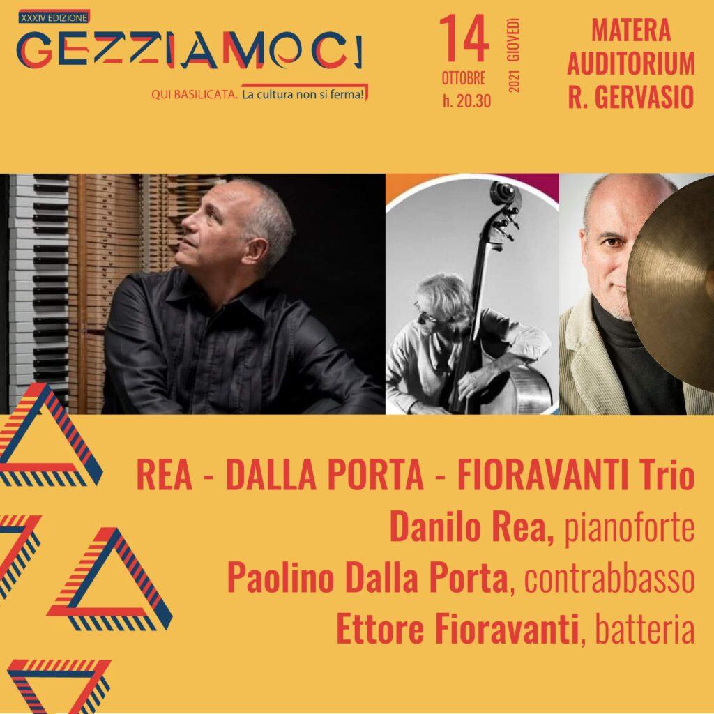 Gezziamoci 2021, il 14 Danilo Rea con Ettore Fioravanti e Paolino Dalla Porta in concerto a Matera